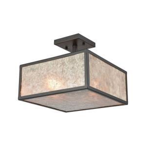 Stasis - Two Light Semi-Flush Mount