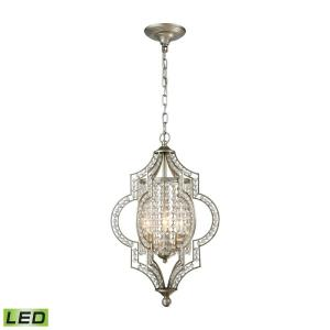 Gabrielle - 14.4W 3 LED Chandelier in Traditional Style with Boho and Victorian inspirations - 22 Inches tall and 14 inches wide