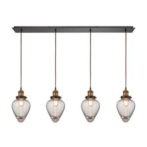 Bartram - Four Light Linear Pendant