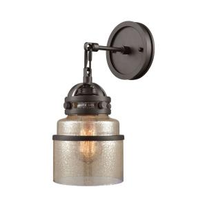 Gramercy - One Light Wall Sconce Oil Rubbed Bronze