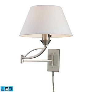 Elysburg - One Light Swingarm Wall Sconce
