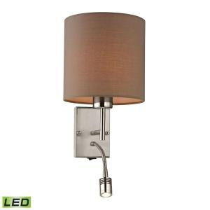 Regina - 19W 2 LED Wall Sconce in Transitional Style with Scandinavian and Retro inspirations - 19 Inches tall and 7 inches wide
