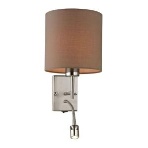 Regina - 2 Light Wall Sconce in Transitional Style with Scandinavian and Retro inspirations - 19 Inches tall and 7 inches wide