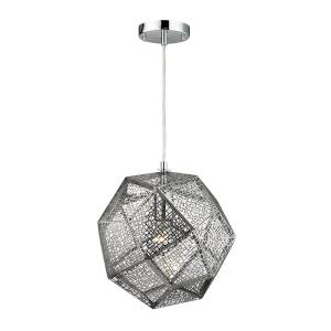 Roxa - 1 Light Mini Pendant in Modern/Contemporary Style with Luxe/Glam and Boho inspirations - 13 Inches tall and 12 inches wide