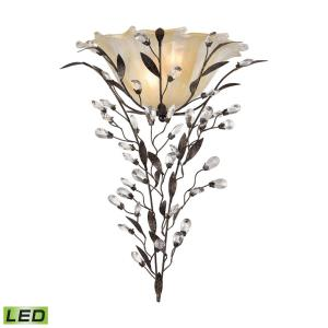 "Circeo - 17"" 9.6W 2 LED Wall Sconce"