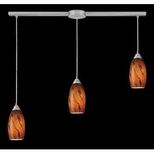 Galaxy - Three Light Linear Pendant
