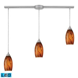 "Galaxy - 10"" 28.5W 3 LED Linear Pendant"