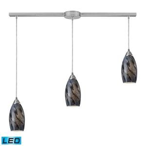 "Galaxy - 36"" 28.5W 3 LED Linear Pendant"