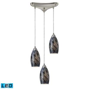 "Galaxy - 10"" 28.5W 3 LED Pendant"