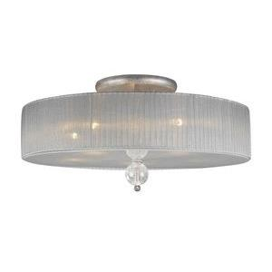 Alexis - Five Light Semi-Flush Mount