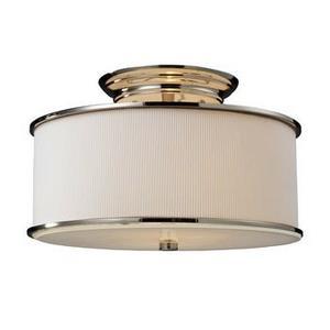 Lureau - Two Light Semi-Flush Mount
