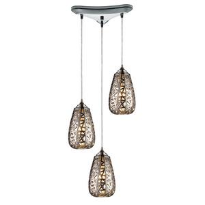 Nestor - Three Light Linear Pendant