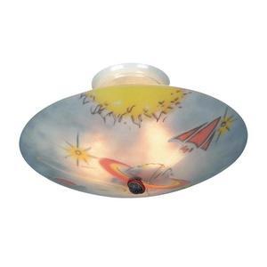 Kidshine - Three Light Semi-Flush Mount