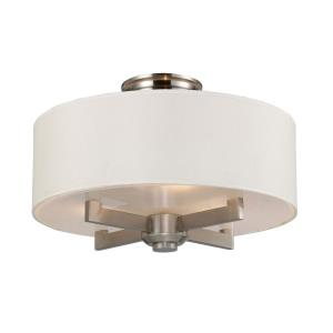 Seven Springs - Three Light Semi-Flush Mount