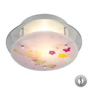 Novelty - Two Light Semi-Flush Mount