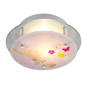 Novelty - 2 Light Semi-Flush Mount in Transitional Style with Children and Eclectic inspirations - 4 Inches tall and 13 inches wide