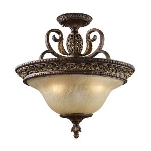 Regency - Three Light Semi-Flush Mount
