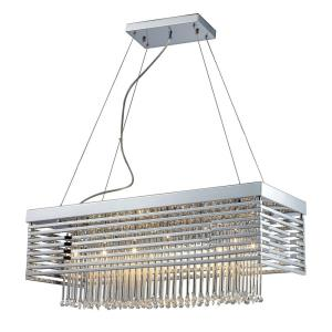 Cortina - 12 Light Chandelier in Modern/Contemporary Style with Luxe/Glam and Art Deco inspirations - 10 Inches tall and 11 inches wide