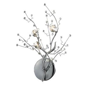 Viviana - 3 Light Wall Sconce in Modern/Contemporary Style with Nature-Inspired/Organic and Asian inspirations - 16 Inches tall and 16 inches wide