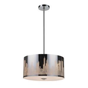 Skyline - 16 Inch 28.5W 3 LED Chandelier