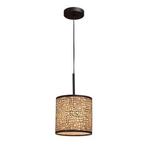 Medina - 1 Light Pendant in Modern/Contemporary Style with Retro and Asian inspirations - 13 Inches tall and 8 inches wide