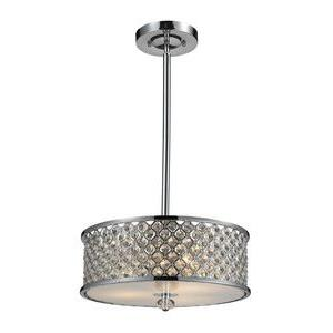 Genevieve - Three Light Semi-Flush Mount