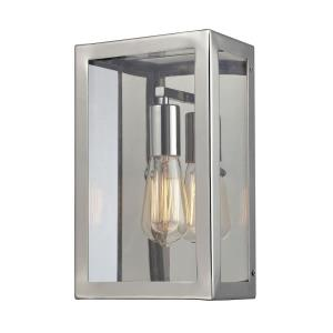 Parameters - 1 Light Wall Sconce in Modern/Contemporary Style with Modern Farmhouse and Urban inspirations - 14 Inches tall and 7 inches wide