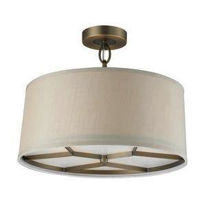 Baxter - Three Light Semi-Flush Mount