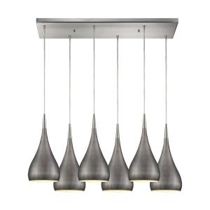 Lindsey - Six Light Rectangular Pendant