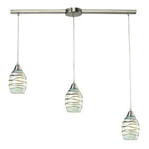 Vines - Three Light Linear Pendant