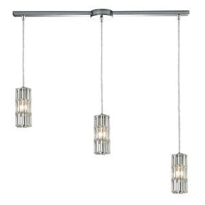 Cynthia - Three Light Linear Pendant