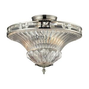 Aubree - Two Light Semi-Flush Mount