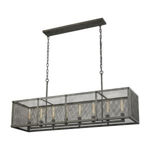 Perry - Eight Light Chandelier