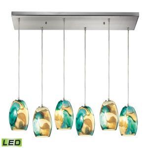 "Surreal - 30"" 57W 6 LED Rectangular Pendant"