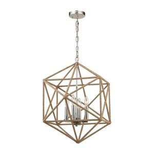 Exitor - Four Light Chandelier