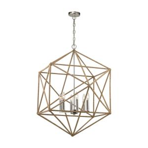 Exitor - Six Light Chandelier