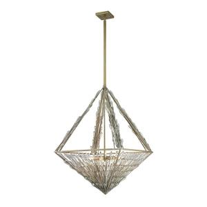 Viva Natura - Eight Light Chandelier