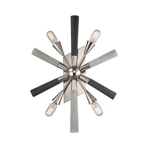 Solara - 4 Light Wall Sconce in Modern/Contemporary Style with Mid-Century and Scandinavian inspirations - 27 Inches tall and 20 inches wide
