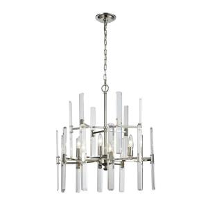 Crystal Heights - Six Light Chandelier