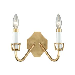 Ceramique - Two Light Wall Sconce