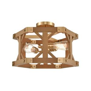 Structure - 3 Light Semi-Flush Mount