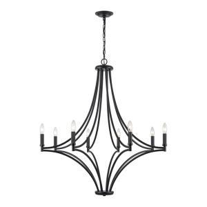 Spanish Villa - 8 Light Chandelier