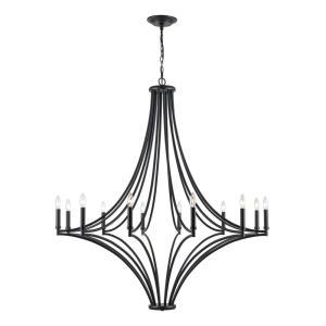 Spanish Villa - 12 Light Chandelier