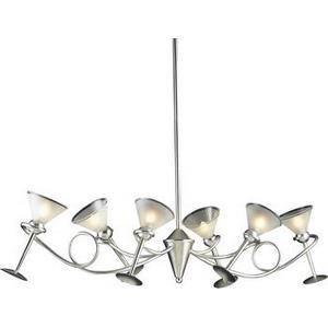 Martini - Six Light Chandelier