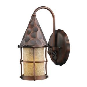 Rustica - One Light Outdoor Wall Sconce
