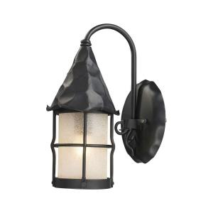 Rustica - 1 Light Outdoor Wall Sconce in Traditional Style with Southwestern and Country/Cottage inspirations - 14 Inches tall and 7.5 inches wide