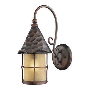 Rustica - One Light Outdoor Wall Lantern
