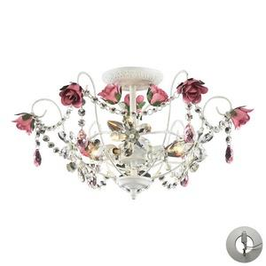 Rosavita - Three Light Semi-Flush Mount