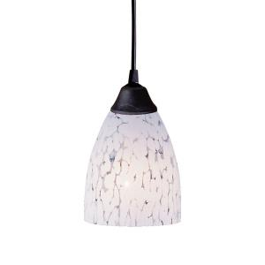 Classico - 9.5W 1 LED Mini Pendant in Transitional Style with Boho and Eclectic inspirations - 7 Inches tall and 5 inches wide