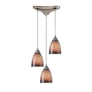 Arco Baleno - Three Light Triangular Pendant
